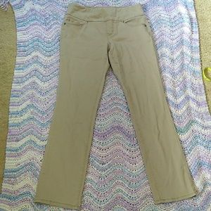 JAG Jeans Khaki Straight Leg Pants